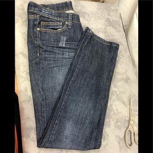 Vigoss Jeans Med wash straight leg 32